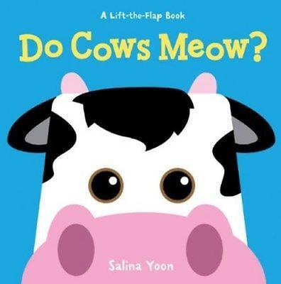 NEW Do Cows Meow? By Salina Yoon Board Book Free Shipping