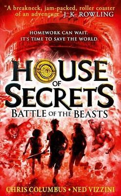 NEW Battle of the Beasts By Chris Columbus Paperback Free Shipping