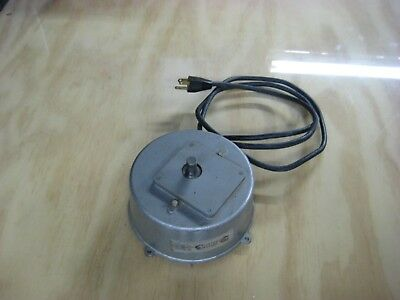 Vintage Electro Motion  Electric Motorized Rotating Display- Handles  150 Lbs.