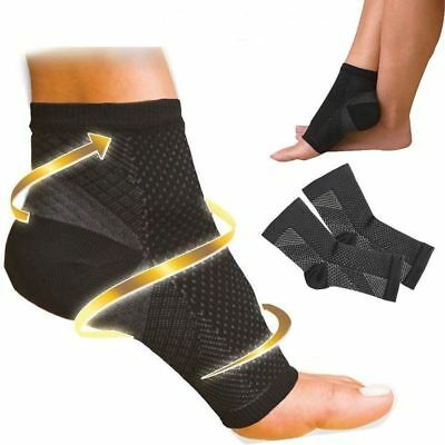 Foot Compression Sleeve Anti Fatigue Angel Circulation Ankle Swelling Relief Hot