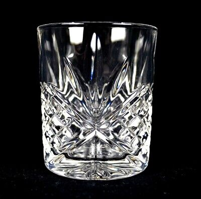 Set of 6 High Quality Crystal Glass Tumbler Glasses