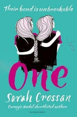 NEW One By Sarah Crossan Hardcover Free Shipping