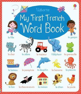 NEW My First French Word Book By Felicity Brooks Board Book Free Shipping