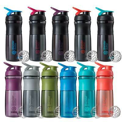Blender Bottle Sports Mixer 826mL Protein Shaker Cup