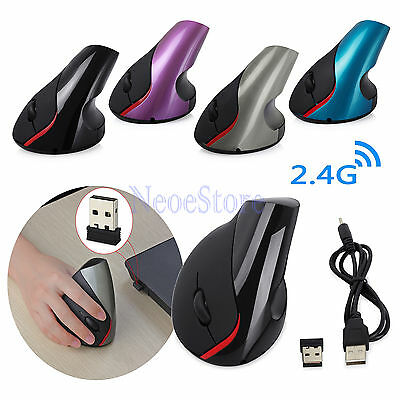 Anker Wired Vertical Ergonomic Shark Fin Style 1200DPI Optical Mouse Mice for PC