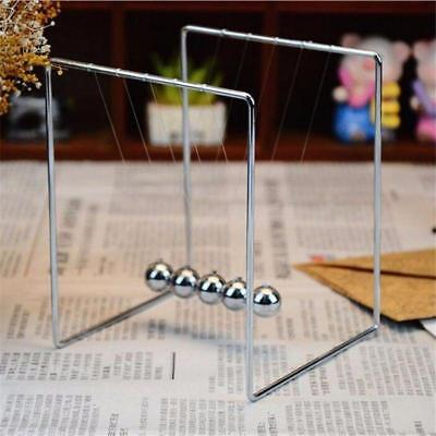 New Newton's Cradle Steel Balance Balls Desk Physics Science Pendulum Desk Toys