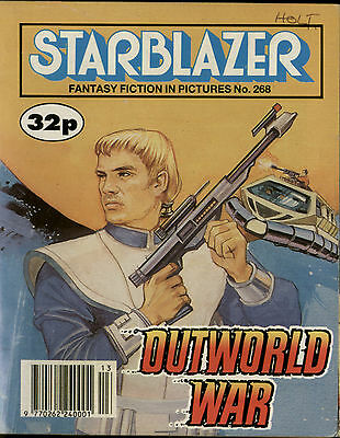 Outworld War,starblazer Fantasy Fiction In Pictures,comic,no.268,1990