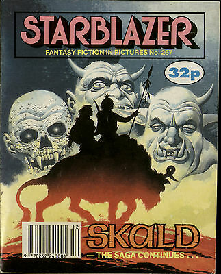 Skald,starblazer Fantasy Fiction In Pictures,comic,no.267,1990