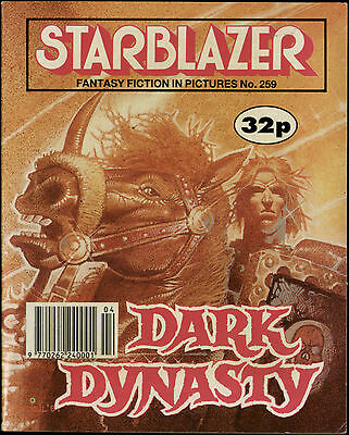 Dark Dynasty,starblazer Fantasy Fiction In Pictures,comic,no.259,1990
