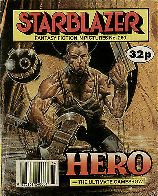 Hero,starblazer Fantasy Fiction In Pictures,comic,no.269,1990