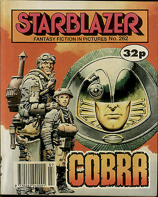 Cobra,starblazer Fantasy Fiction In Pictures,comic,no.262,1990
