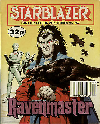 Ravenmaster,starblazer Fantasy Fiction In Pictures,comic,no.257,1990