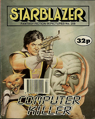 Computer Killer,starblazer Fantasy Fiction In Pictures,comic,no.258,1990