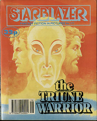 The Triune Warrior,starblazer Fantasy Fiction In Pictures,comic,no.271,1990