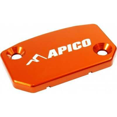 Apico Front Brake/ Clutch Master Cylinder Cover - KTM 2000-17 - Brembo - Orange