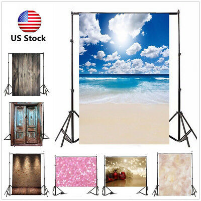 Red Curtain Wall Floor Backdrop Vinyl Photography Studio Photo Background Props