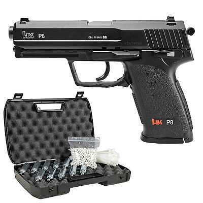 Heckler & Koch P8 Softair-Co2-Pistole Kaliber 6 mm BB NBB > 0,5 Joule (P18)
