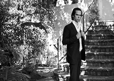 Reproduction Nick Cave Poster, The Bad Seeds, Black & White