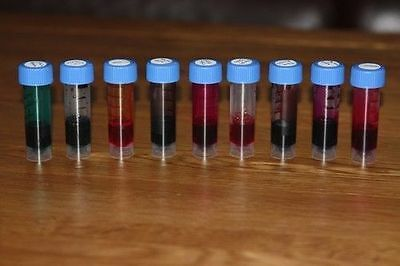 INK-SAMPLES - Collections (Shade and Random) - 3 or 7 vials (2 or 5 ml each)