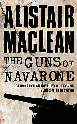 The Guns of Navarone by Alistair MacLean (Paperback) New Book