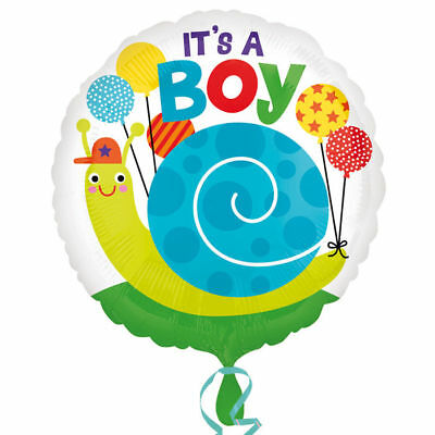 Folienballon Its a Boy, 45 cm, Baby Shower Geburt Junge Gender Reveal