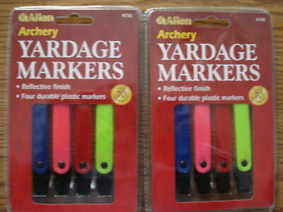 Lot of 2, Allen Archery Bow Hunting Yardage Markers NEW
