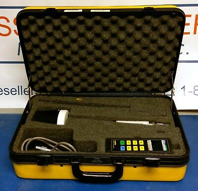 Narda 8712 RF Survey Meter with A8742D E Field Probe and Case