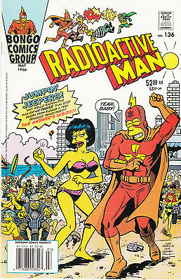 RADIOACTIVE MAN 136...NM-...2001...HTF Bargain!