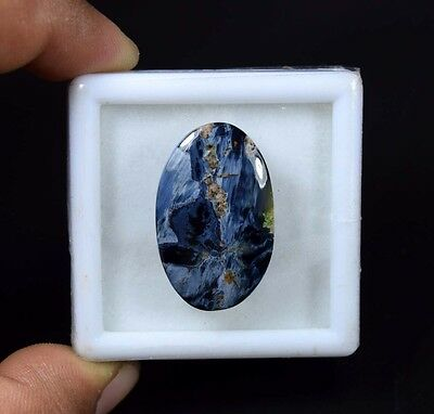 23.80 Cts. 100 % Natural Chatoyant Pietersite Oval Cabochon Loose Gemstones