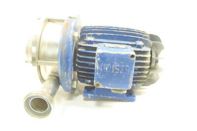 Hilge Stainless Centrifugal Pump 1/4kw 208v-ac