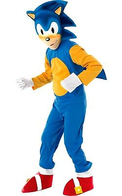 Child SONIC THE HEDGEHOG Fancy Dress Costume World Book Day Video Game