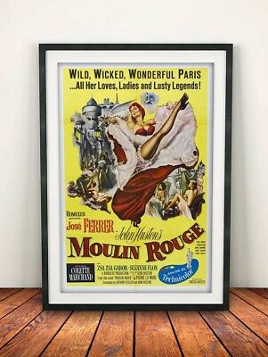 MR02 VINTAGE MOULIN ROUGE MOVIE POSTER A3 PRINT