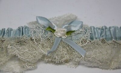 Vintage Garter Belt Borrowed Blue Box Bridal Bride Buffalo NY Wedding NIB 1960's