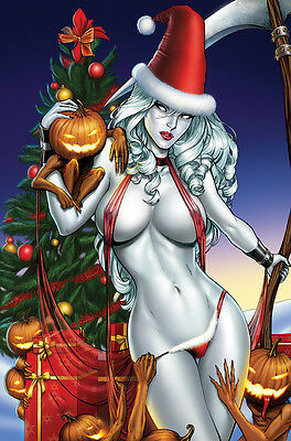 Lady Death, Christmas,  Poster Print