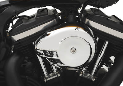 S&s Air Stream Chrome Cover Harleys W/ S&s Stealth Air Cleaner Kits 170-0118