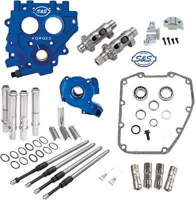 S&s 585Ce Chain Drive Cam Chest Kit W/ Oil Pump & Plate Harley 1999-06 Twin Cam