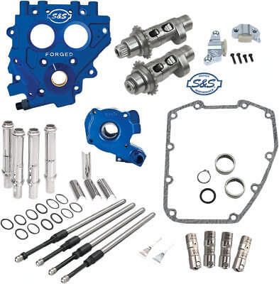 S&s 583C Chain Drive Cam Chest Kit W/ Oil Pump & Plate Harley 2007-16 Twin Cam