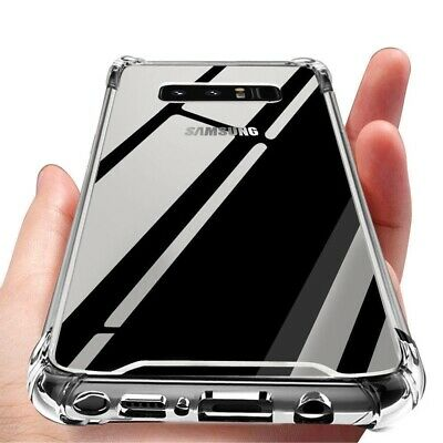Shockproof Galaxy S8 S8+ Plus Note 8 Tough Hard Gel Clear Case Cover for Samsung
