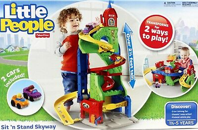 Fisher Price Little People Wheelies  Sit and Stand Skyway 75cm Tall