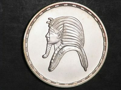 EGYPT 1985 5 Pounds Tutankhamen Silver Proof - Mtg=2000