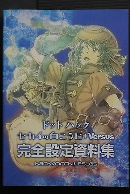 JAPAN .hack//Beyond The World +Versus Kanzen Settei Shiryoushuu (Art Guide Book)