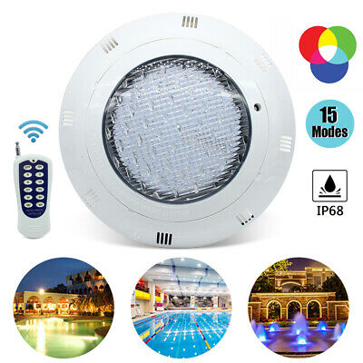 36W/45W LED Underwater Swimming Pool SPA RGB Light IP68+remote controller US