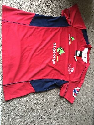 St georges Reds Rugby Shirt XXL