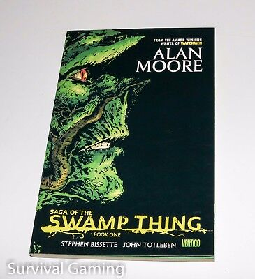 Saga of the Swamp Thing - TP Book One - Graphic Novel by Alan Moore - Paperback