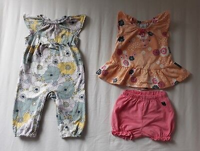 Polarn O. Pyret - Bundle of 2 Outfits (one new) - Baby Girl - Spring/Summer