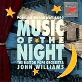 Music of the Night: Pops on Broadway 1990 - John Williams, Boston (CD, Sony)