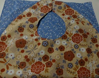 Adult Bibs / cover-ups for adults, seniors, disabled/ bibs; BLUE, WHITE, SALMON