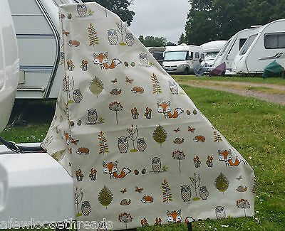 Woodland Patterned Caravan hitch cover (A-frame cover)