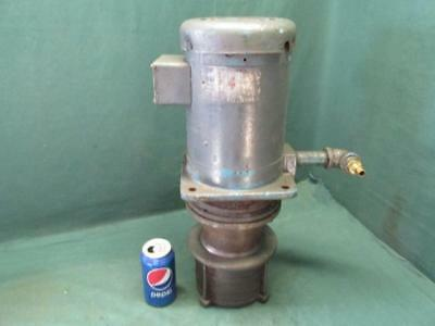 Gusher Model MS4-3-150FS-4 Vertical Multistage Coolant Pump 3 Phase 1-1/2 HP