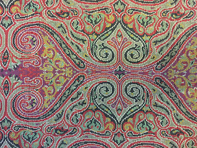 Unknown Antique Textile Tapestry Panel - Middle Eastern - Ottoman Persian ?